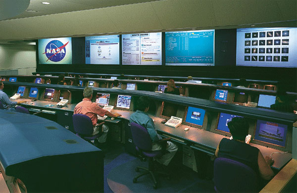 Single-tier Command and Control Room Consoles