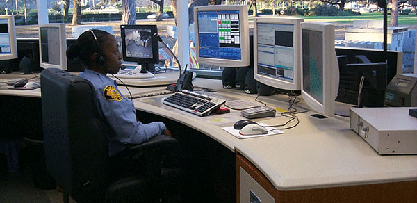 Dispatch consoles for fire and police has special needs.