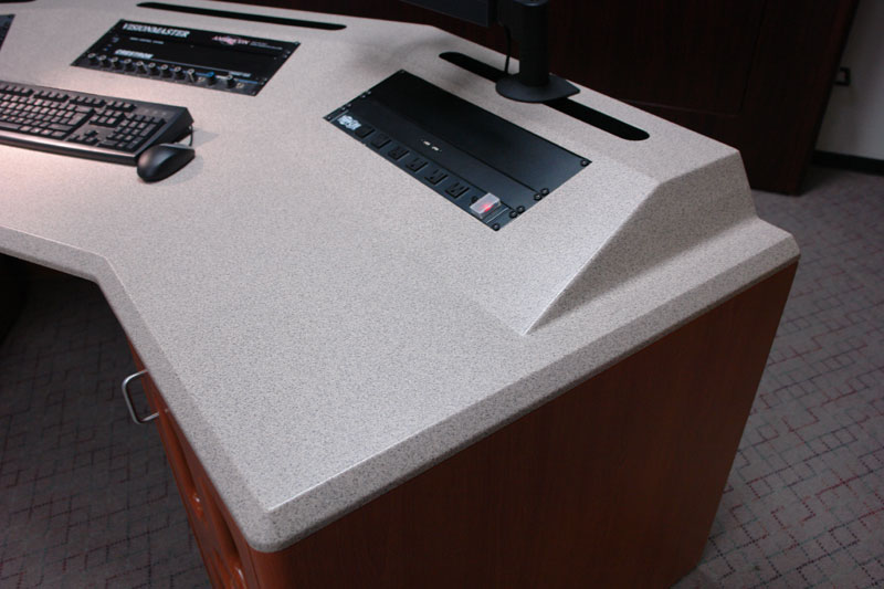 Continuous Turret Work Surface